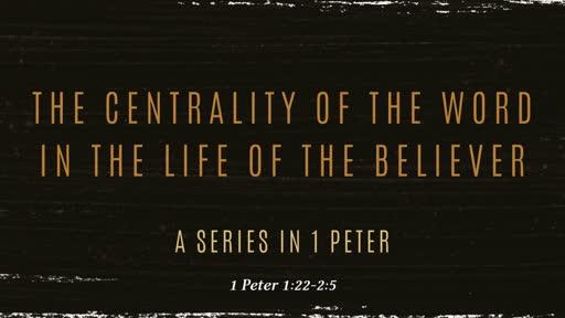1 Peter 1:22-2:5