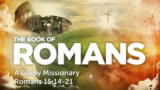 Sunday, July 22 - PM - A Godly Missionary