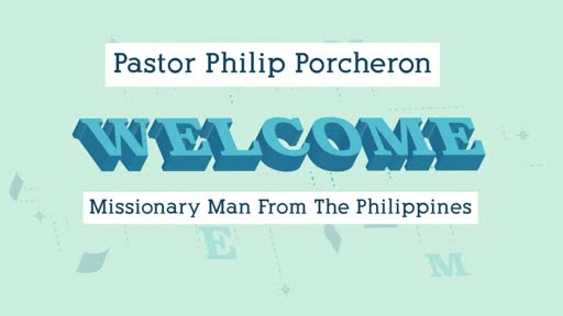Guest speaker: Philip Porcheron