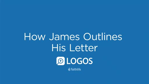 How James Outlines His Letter