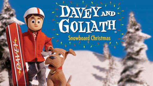 Davey & Goliath - Snowboard Christmas