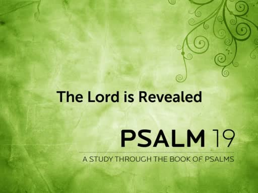 """""""The Lord is Revealed"""""""