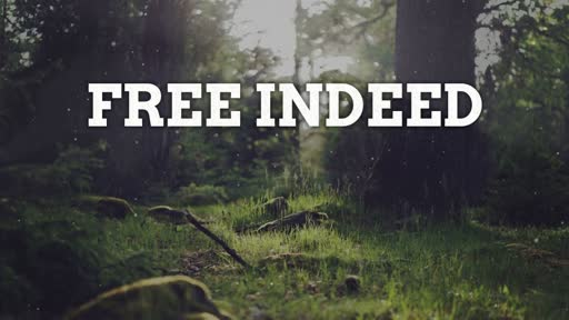 July 29, 2018 - Free Indeed