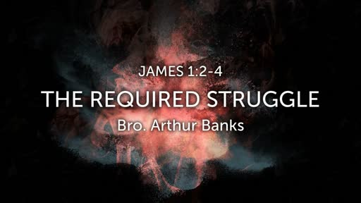 The Required Struggle 7-29-18