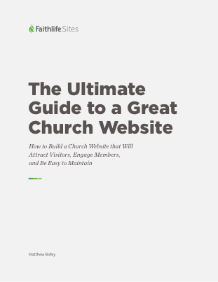 Faithlife Sites Guide Cover