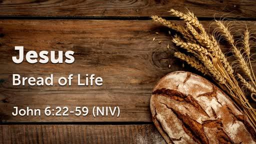 August 5 - Jesus: Bread of Life