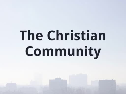 Our Christian Community
