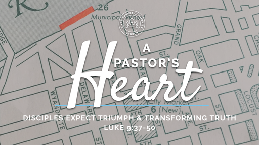 August 5, 2018 - Disciples Expect Triumph and Transforming Truth   Luke 9:37-50