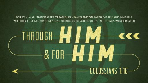Colossians 1:16 verse of the day image