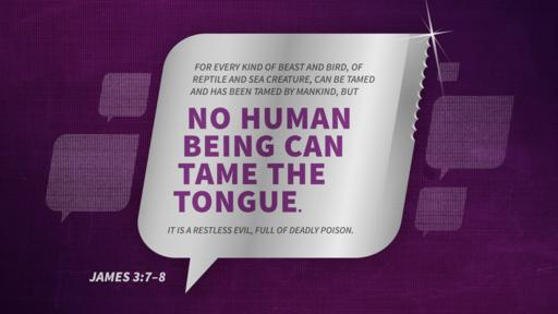 James 3:7–8 verse of the day image