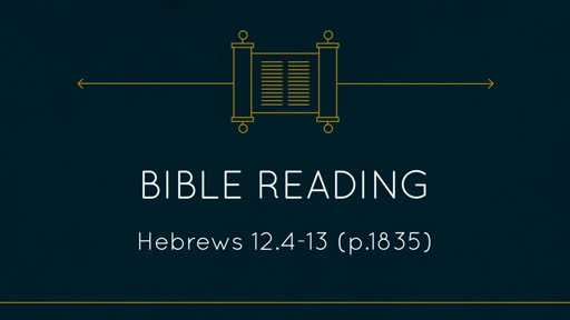 10AM Hebrews 12.4-13