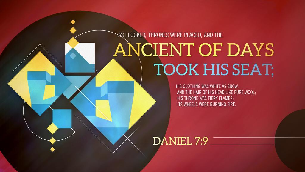 Daniel 7:9 large preview