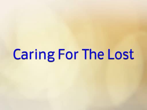 Caring For The Lost