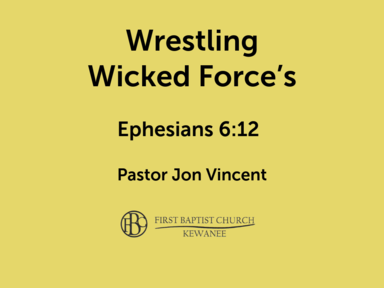 Wrestling Wicked Forces