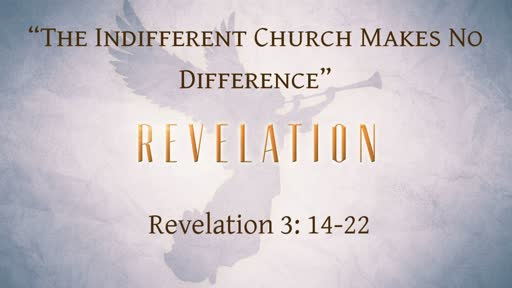 The Indifferent Church Makes No Difference