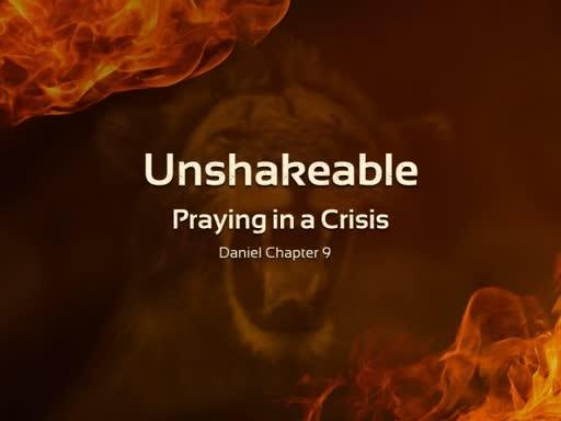 Praying in a Crisis