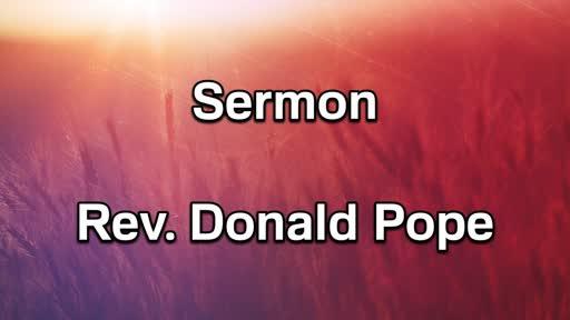 8-5-18 PM Sermon