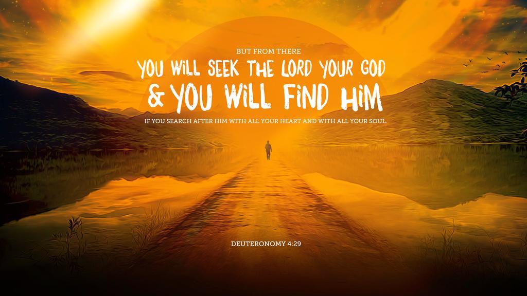 Deuteronomy 4:29 large preview