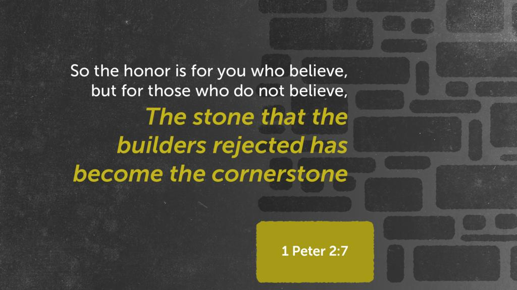 1 Peter 2:7 large preview