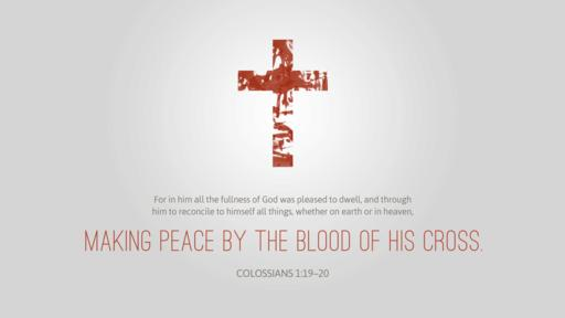 Colossians 1:19–20 verse of the day image