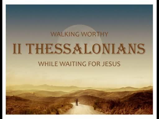 II Thessalonians (3)