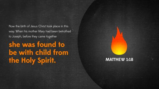 Matthew 1:18 verse of the day image