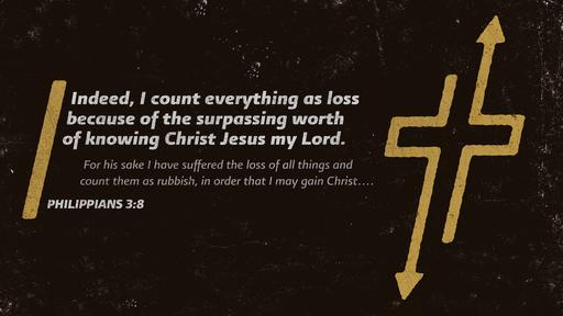 Philippians 3:8 verse of the day image