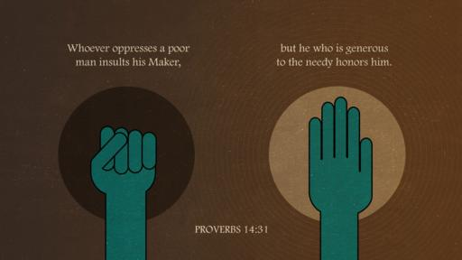 Proverbs 14:31 verse of the day image