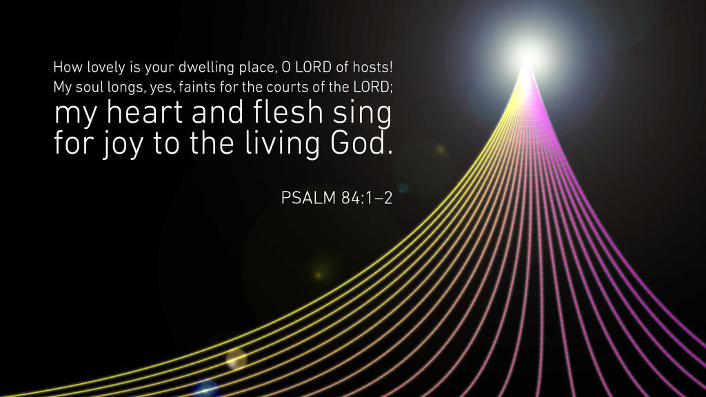 Psalm 84:1–2 large preview