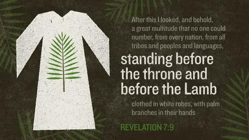 Revelation 7:9 verse of the day image