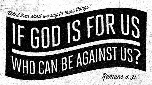 Romans 8:31 verse of the day image