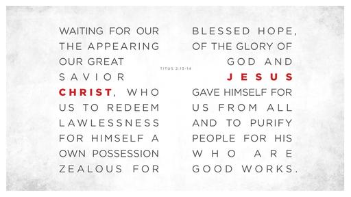 Titus 2:13–14 verse of the day image