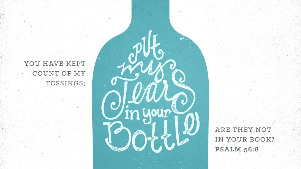 Psalm 56:8 large preview