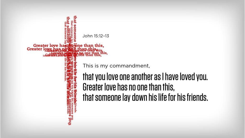 John 15:12–13 large preview
