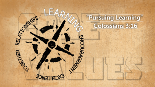 """Pursuing Learning"" 