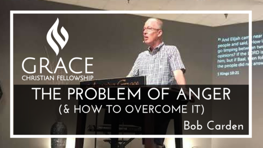 The Problem of Anger (and how to overcome it)