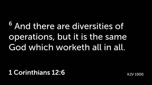 We Need Each Other Christian Fellowship as a Means of Perseverance