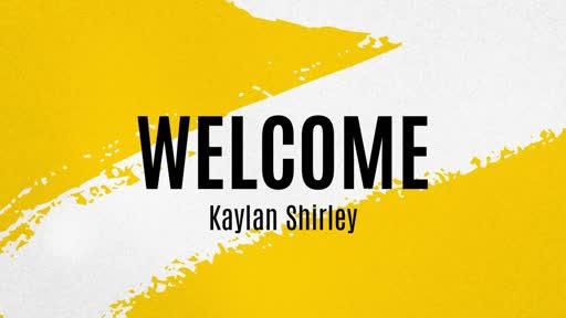 Sunday Worship w/ Kaylan Shirley