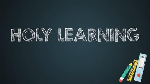 Holy Learning
