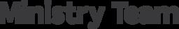Ministry Team Magazine logo