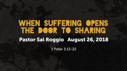 When Suffering Opens the Door to Sharing