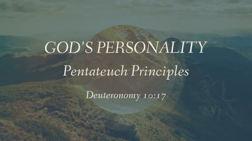 God's Personality