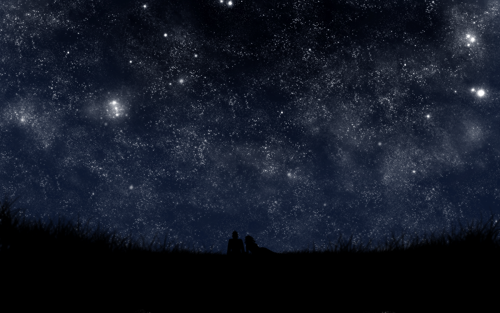 Открыток блюда, картинки темная ночь звездное небо