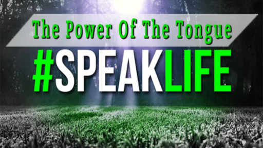 The Power of the Tongue #SpeakLife (PT 3)