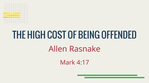 The High Cost of Being Offended