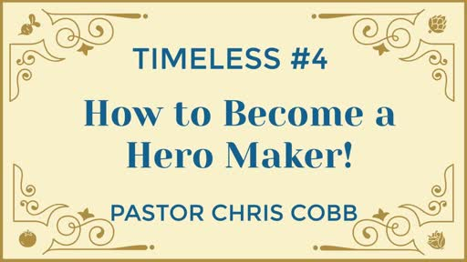 How to become a hero maker! 8-26-18