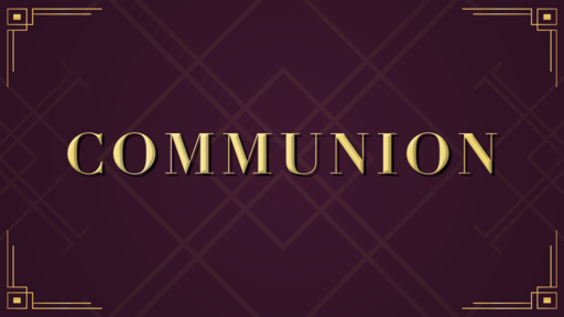 Communion Purple and Gold
