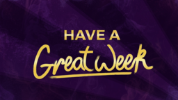 Holy Spirit, Come have a great week 16x9 PowerPoint Photoshop image