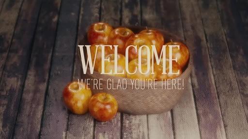Apple Basket - Welcome