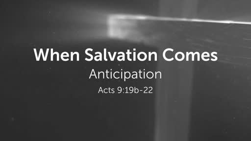 When Salvation Comes